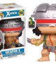 x_fk12604 X-Men POP! Marvel Vinyl Bobble-Head Figure Weapon X 9 cm
