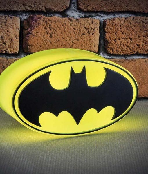 DC Comics Mini Batman Logo Lámpa