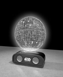 x_bs144896ds x_bs144896ds_c Star Wars Bluetooth Sound Reactive Speaker Death Star 26 cm