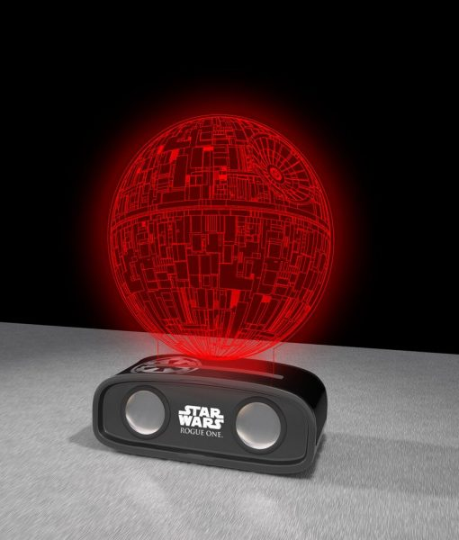 x_bs144896ds_c Star Wars Bluetooth Sound Reactive Speaker Death Star 26 cm