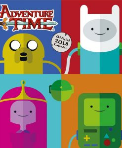 Adventure Time naptár 2018