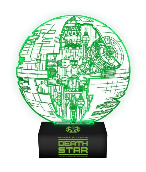 Star Wars Rogue One Lámpa - Death Star
