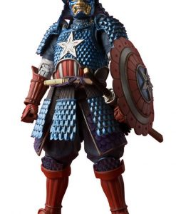 Marvel Comics MMR Akciófigura - Samurai Captain America Web Exclusive (18cm)