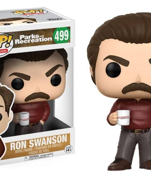 Television Parks and Recreation Funko POP! figura - Ron Swanson