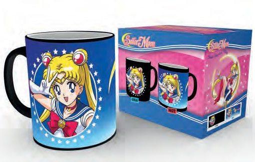 Sailor Moon hőre változó bögre - Moonstick
