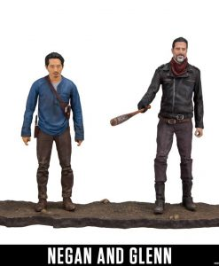 The Walking Dead Akciófigura - Negan & Glenn (13cm)