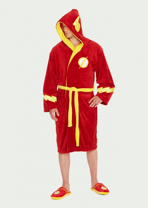 Flash Bathrobe Hood-Up DC Comics köntös - The Flash 9e61f7b970