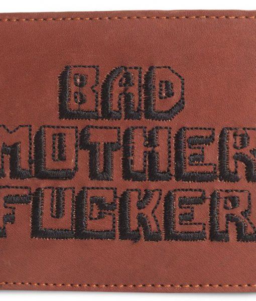 Bad Motherf*cker pénztárca - barna