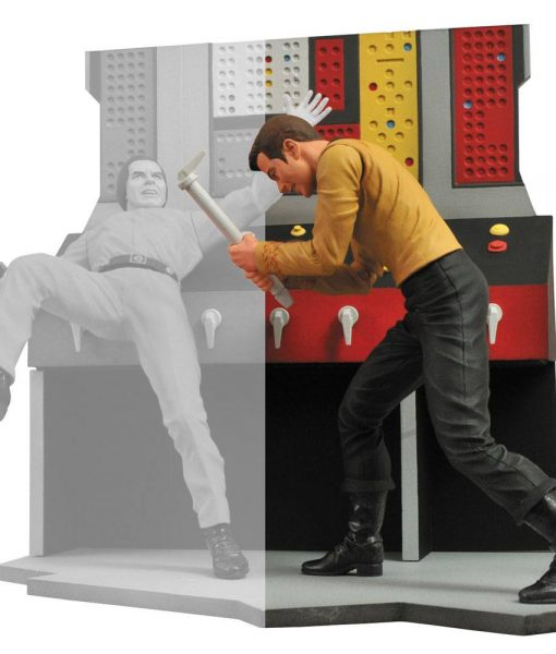 Star Trek Select Akciófigura - Captain Kirk (18cm)