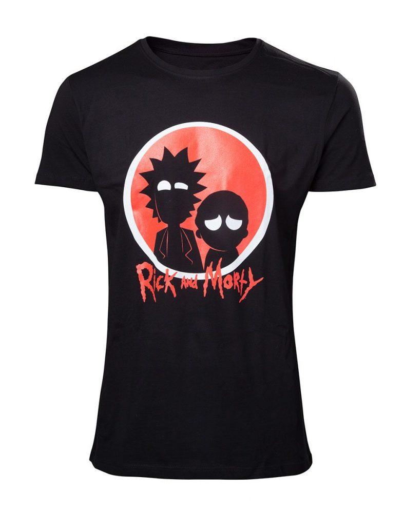 Rick and Morty póló - Red logo  9b2ee5753c