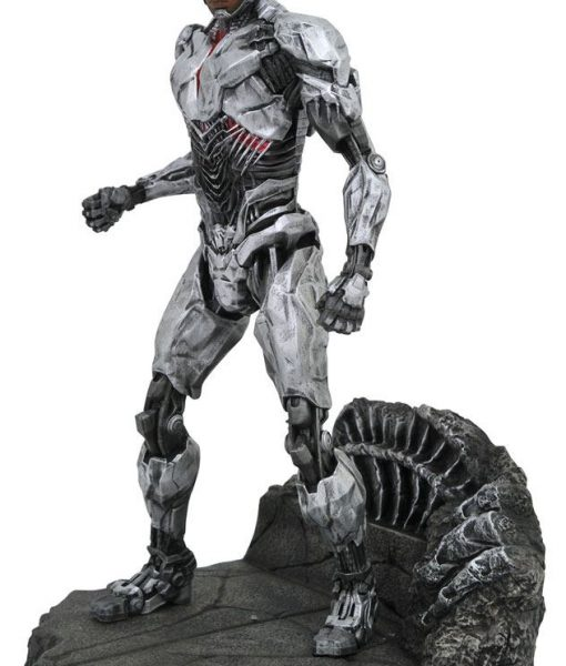 Justice League Movie DC Gallery PVC Szobor - Cyborg (23cm)