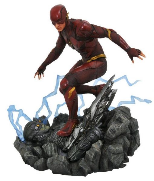 Justice League Movie DC Gallery PVC Szobor - The Flash (23cm)