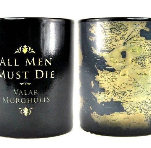 x_hmb-mugbgt05 Game of Thrones Heat Change Mug Map