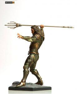 Justice League Art Scale Szobor - 1/10 Aquaman (22cm)