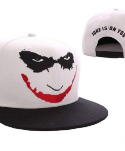 x_acdtktmcp003 Batman Adjustable Cap Joker Logo white