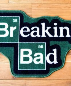 x_pty010002 Breaking Bad Rug Logo 85 x 55 cm