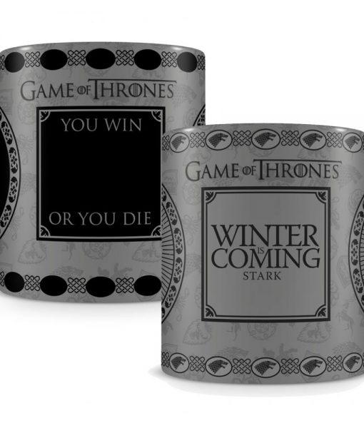 x_scmg24714 Game of Thrones Heat Change Mug Stark
