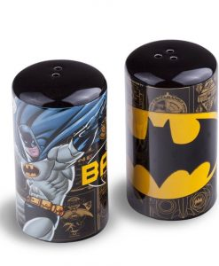 x_zltdbat77dc Batman Salt and Pepper Shaker Batman