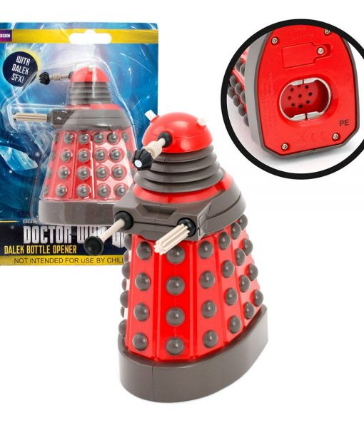 x_zltddr252 Doctor Who Talking Bottle Opener Dalek