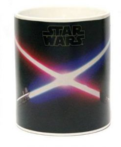 x_zltdstar160 Star Wars Heat Change Mug Jedi & Sith