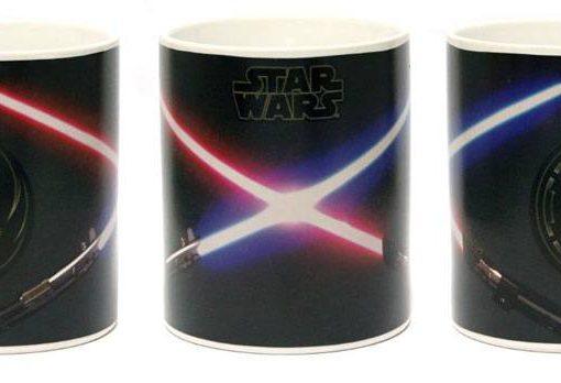 x_zltdstar160 Star Wars Heat Change Mug Jedi & Sith
