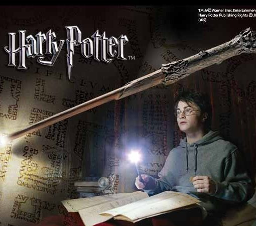 xnob1910_a Harry Potter Replica Harry´s Illuminating Wand