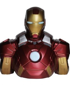 x_bbsm002_c Marvel Comics Coin Bank Iron Man 22 cm