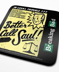 x_cs00102 Breaking Bad Coaster Better Call Saul 6-Pack