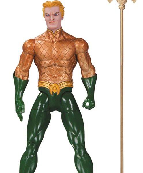 x_dccmay160363 DC Comics Designer Action Figure Aquaman by Greg Capullo 17 cm