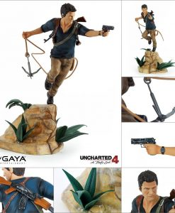 x_ge3222 Uncharted 4 A Thief's End PVC Statue Nathan Drake 30 cm