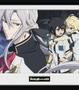 x_gye-pfc2070 Seraph of the End Framed Poster Trio 45 x 34 cm