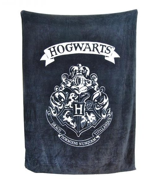 x_hmb-throhp02 Harry Potter Fleece Blanket Hogwarts 125 x 150 cm