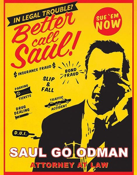 x_pp33617 Better Call Saul Poster Pack Attorney At Law 61 x 91 cm