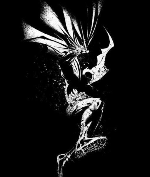 x_ppl-134399s DC Comics Metal Poster DC Dark Edition Batman 10 x 14 cm