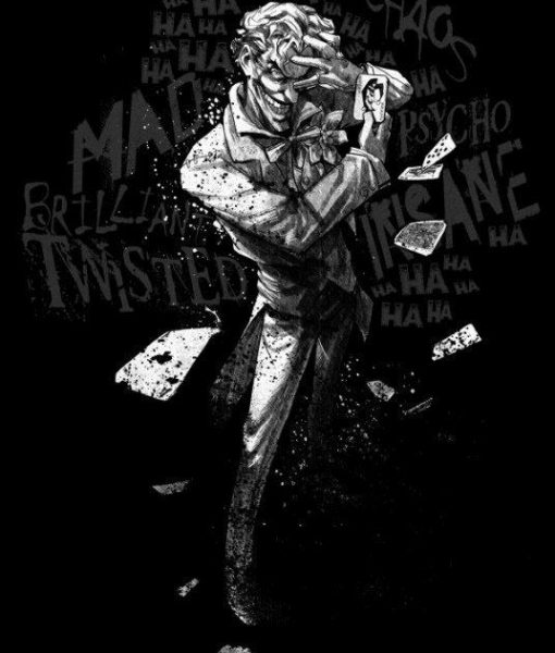 x_ppl-134404s DC Comics Metal Poster DC Dark Edition Clown Prince of Crime 10 x 14 cm