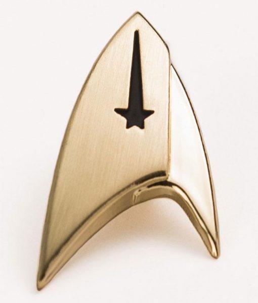 x_str-0141 Star Trek Discovery Lapel Pin Command Badge