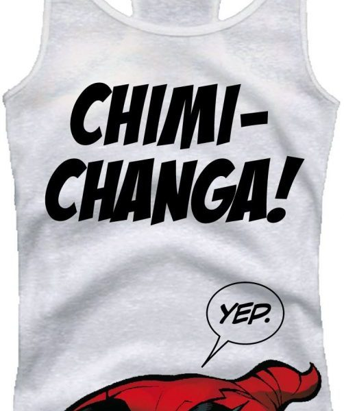 x_wopoolxtk017 Deadpool Girlie Tank Top Chimi Changa