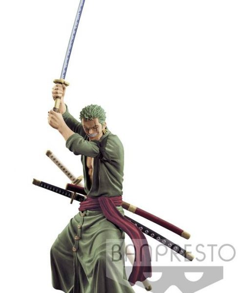 x_banp83771 One Piece Swordsmen Vol. 1 Figure Roronoa Zoro 15 cm