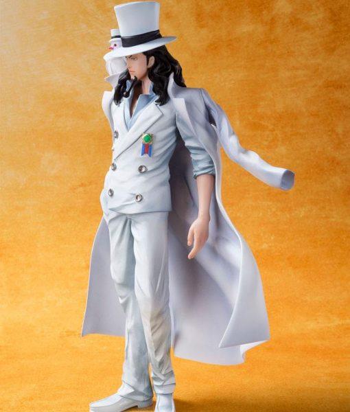 x_btn07556-1 One Piece Film Gold FiguartsZERO PVC Statue Rob Lucci 16 cm