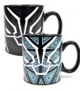 x_hmb-mugbmv16 Marvel Comics Heat Change Mug Black Panther
