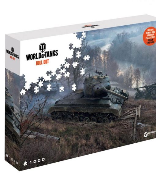 x_mp42602 World of Tanks Jigsaw Puzzle On the Prowl (1000 pieces)
