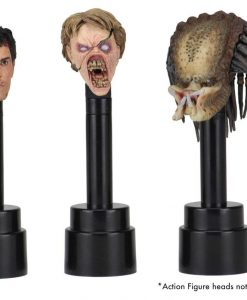 x_neca02084 NECA Action Figure Head Display Stands black (3)