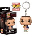 x_fk14227 Stranger Things Pocket POP! Vinyl Keychain Eleven 4 cm