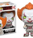 x_fk20176 It POP! Movies Vinyl Figure Pennywise (with Boat) 9 cm