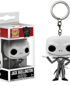 x_fk5315 Nightmare Before Christmas Pocket POP! Vinyl Keychain Jack Skellington 4 cm