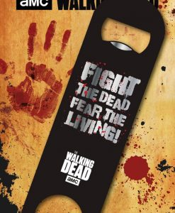 x_gye-bar0003 Walking Dead Bar Blade / Bottle Opener Fear the Living 12 cm