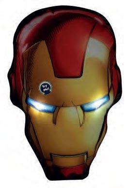 x_joy16107 Marvel Comics LED Pillow Iron Man 36 cm
