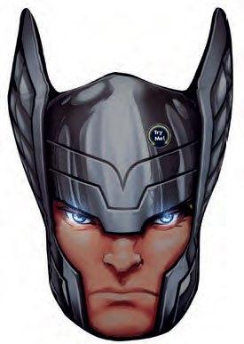 x_joy16263 Marvel Comics LED Pillow Thor 36 cm