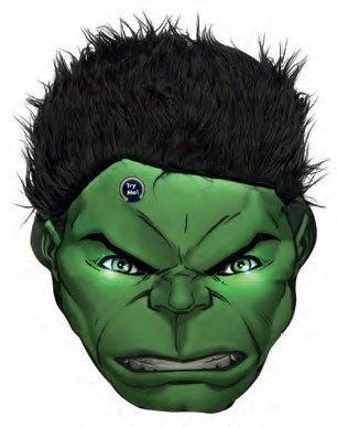 x_joy16264 Marvel Comics LED Pillow Hulk 36 cm