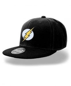 x_pe16657accos DC Comics Snap Back Cap Flash Logo